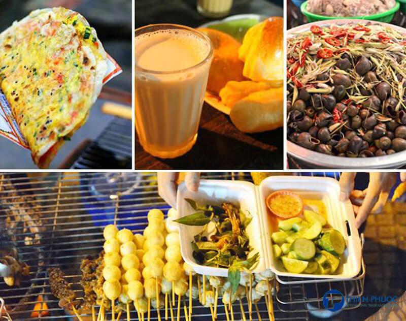 Các món ăn vặt tại Đà Lạt
