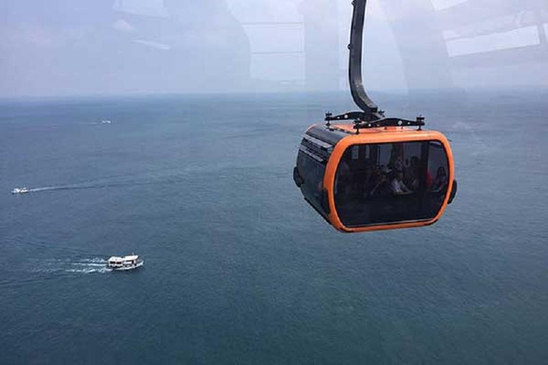 Cáp treo Phú Quốc-Cáp treo vượt biển dài nhất thế giới