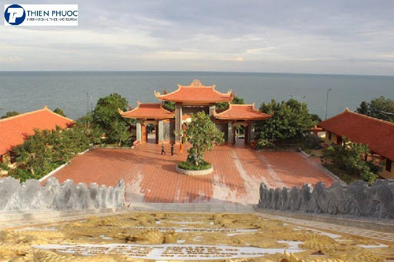 Chùa Hộ Quốc-Ngôi chùa trên đảo Phú Quốc